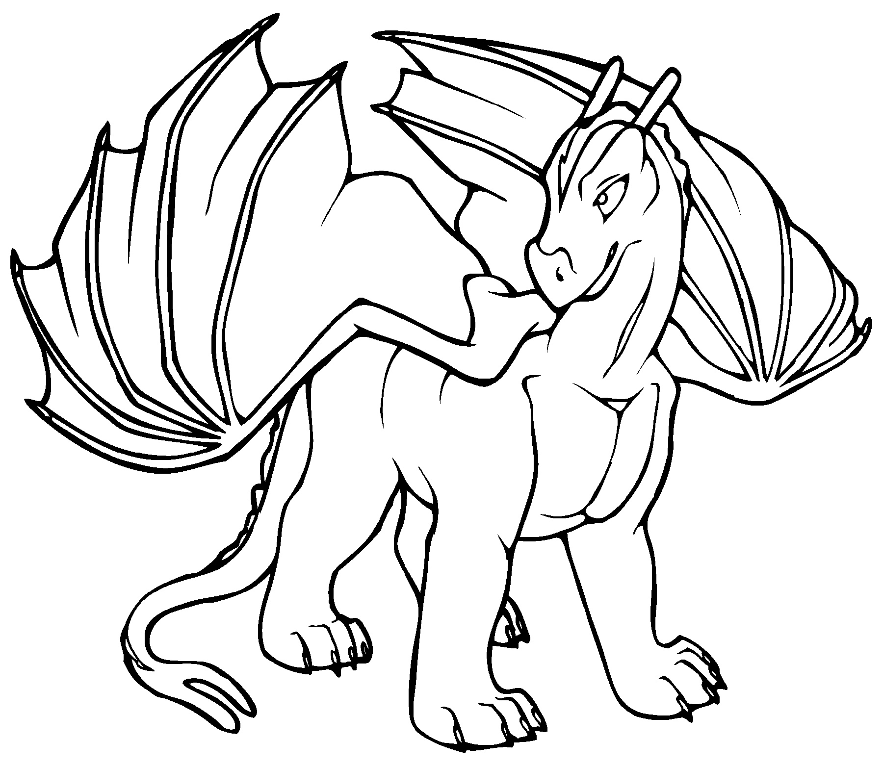 Lego Elves Coloring Pages Dragon
