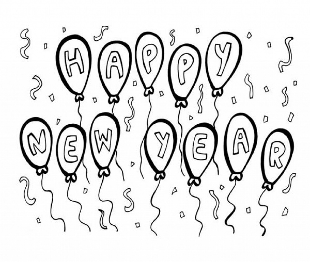 New-Years-Coloring-Pages-Baloon