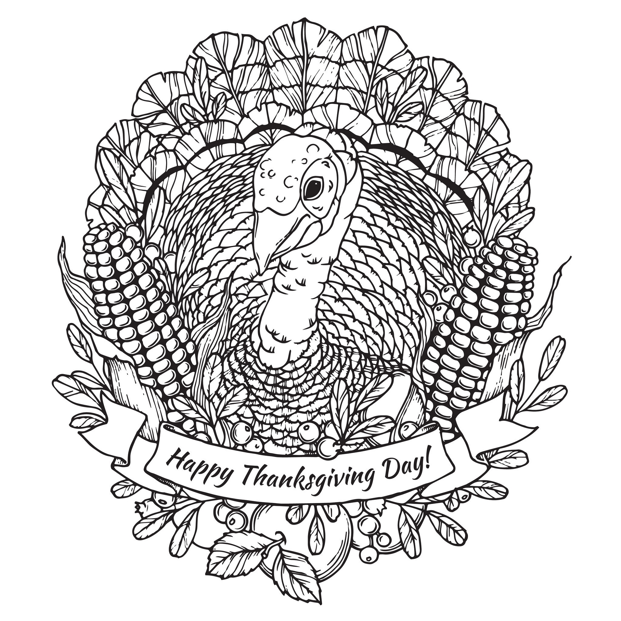November Coloring Sheets For Adult