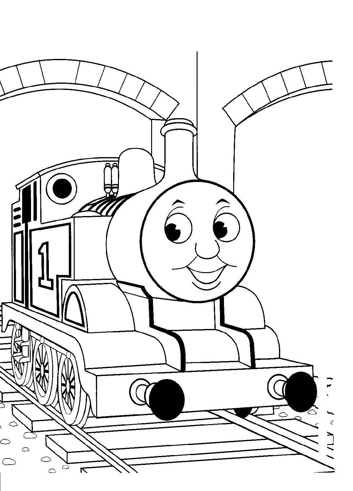 Thomas Coloring Pages Printable