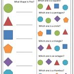 Toddler Learning Worksheets Shapes