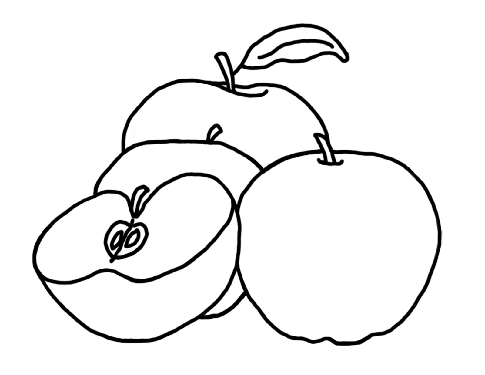Apple-Coloring-Pages-Printable