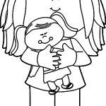 Baby Doll Coloring Page For Kids