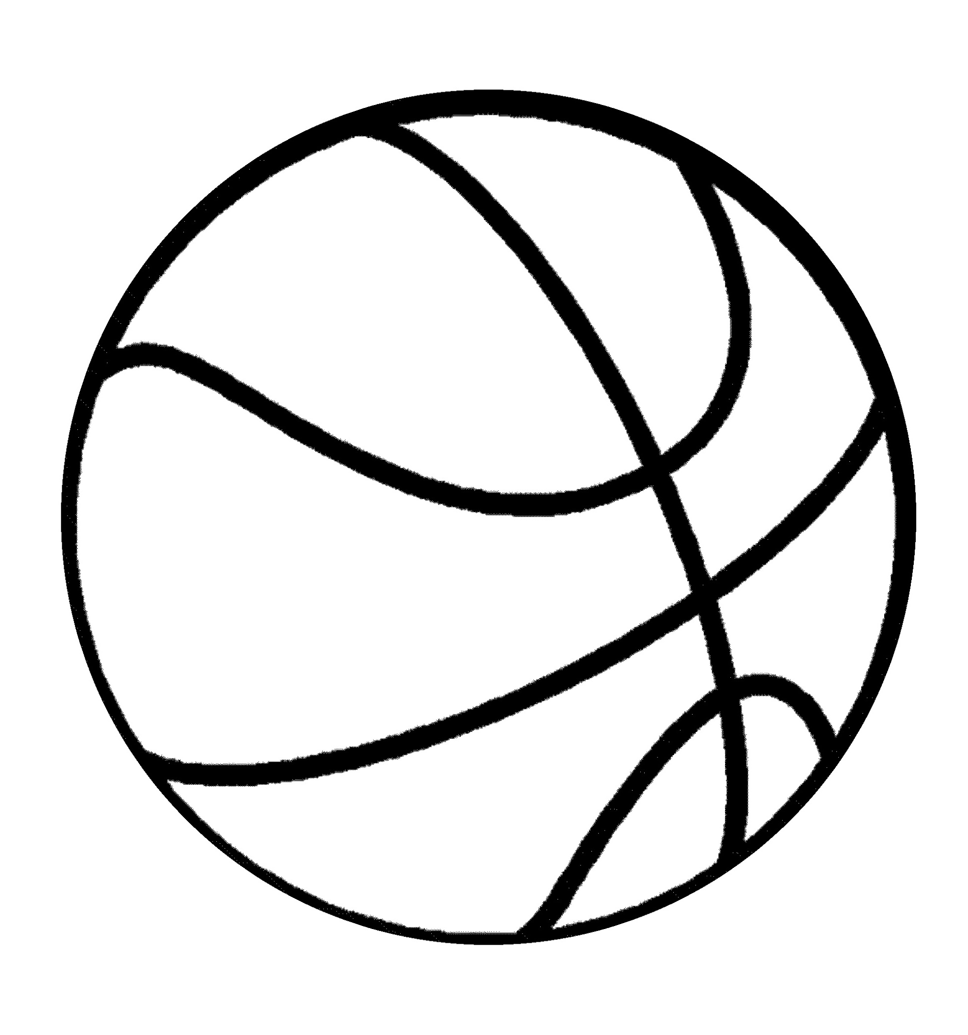 Basketball Coloring Pages Ball
