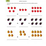 Beginning Math Worksheets Addition