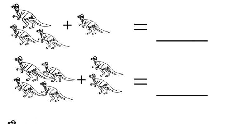 Educational Worksheets For Kindergarten Dinosaur