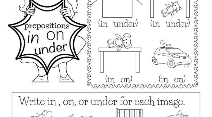English For Kindergarten Free Worksheet Grammar