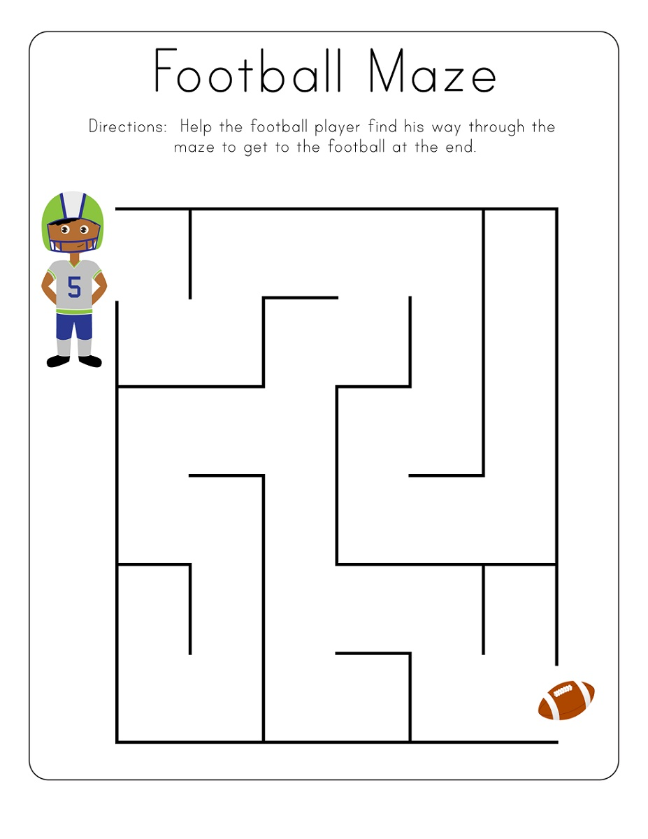 Free Printable Activities For Toddlers Maze