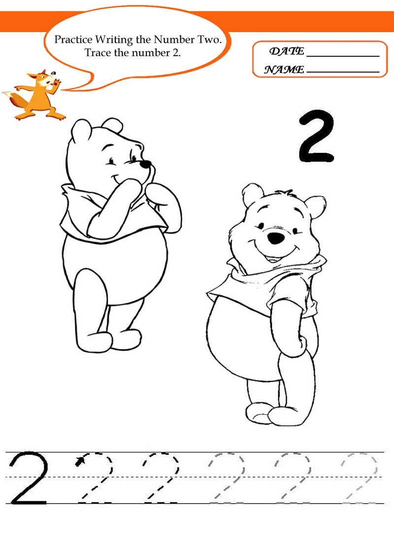 Free Printable Activities For Toddlers Number