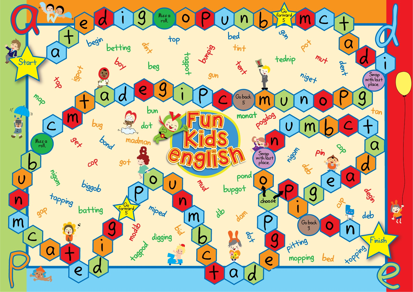Free Printable Games For Preschoolers Alphabet