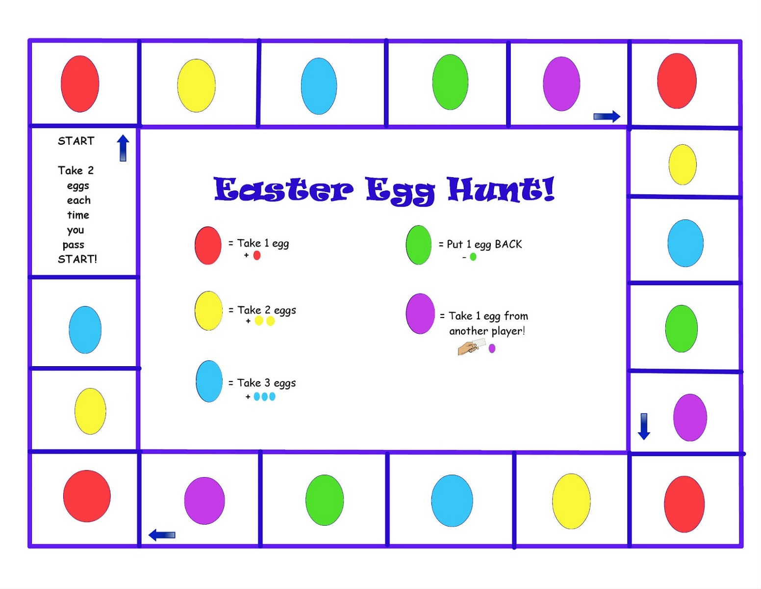 Free Printable Games For Preschoolers Easter