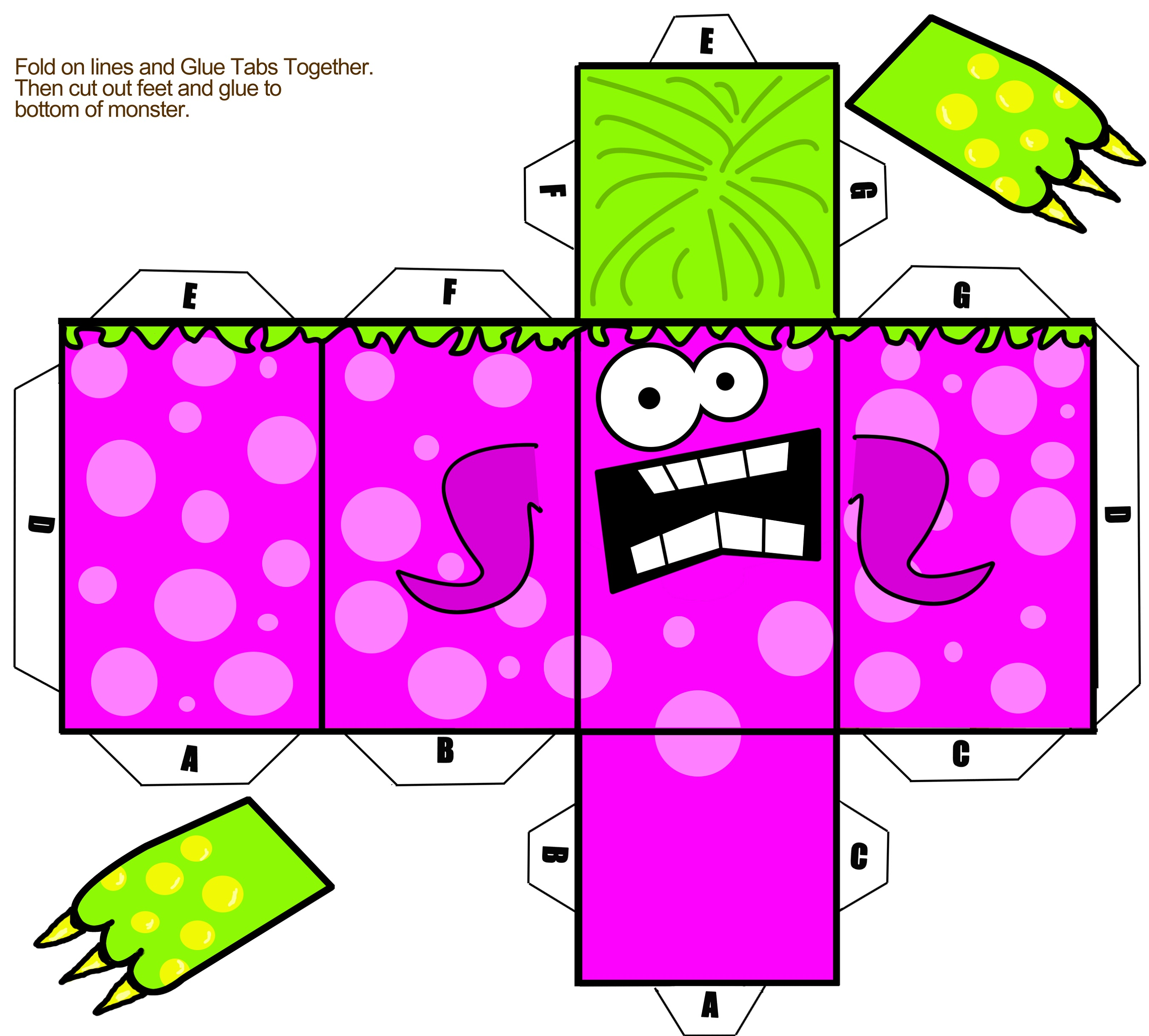 Kids Activities To Print Paper Toy