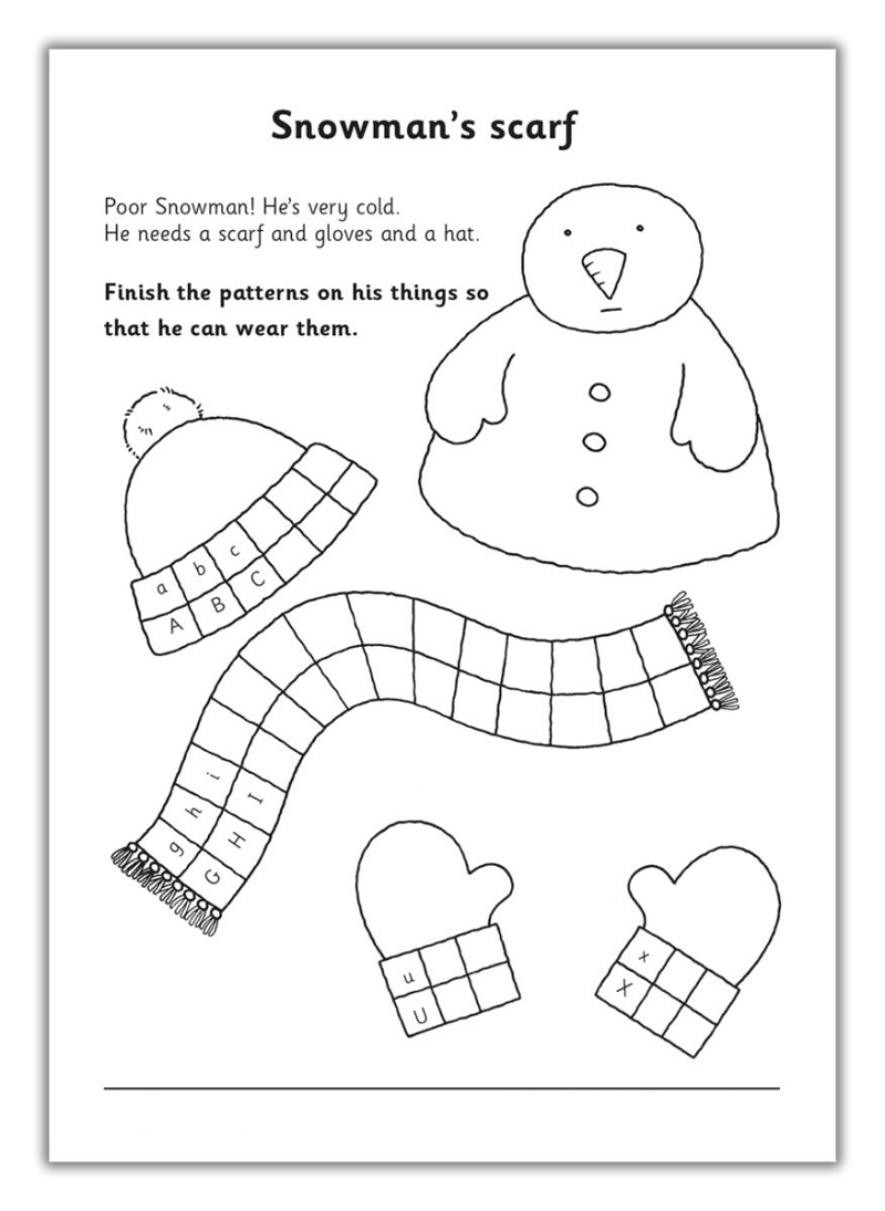 Ks1 Worksheets Free Printable Christmas
