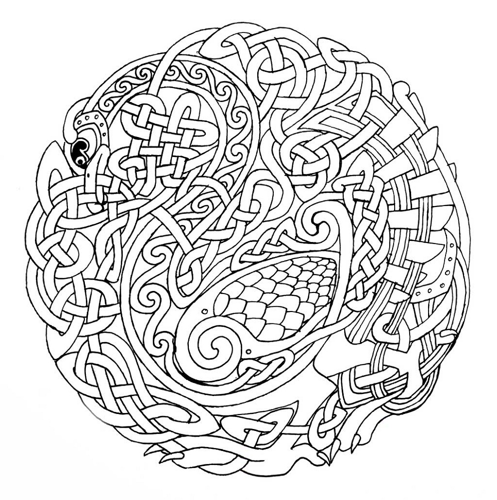 Mandala Coloring Pages Intricate
