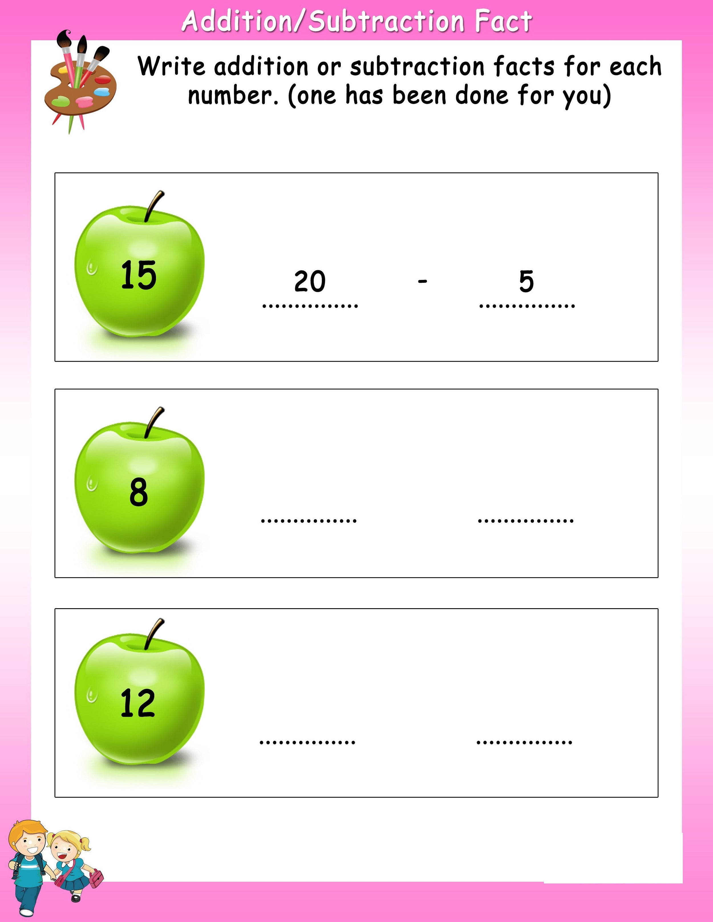 Math-Worksheets-For-Grade-2-Fact