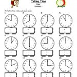 Math Worksheets For Grade 3 Time