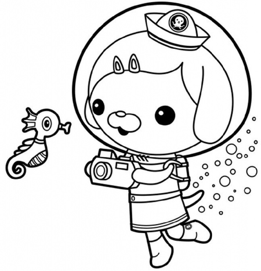 Octonauts Coloring Pages | K5 Worksheets