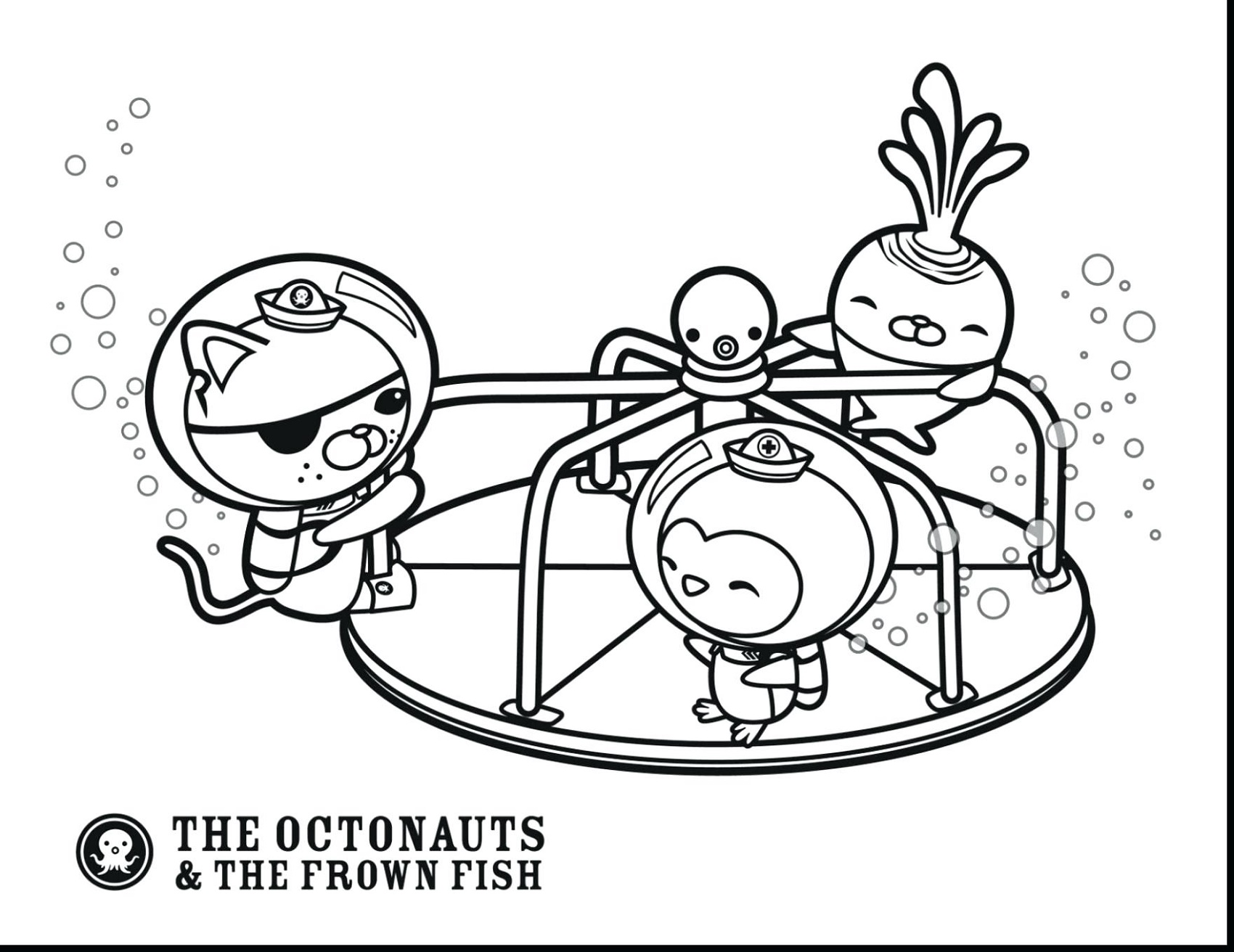 Octonauts Coloring Pages To Print | K5 Worksheets