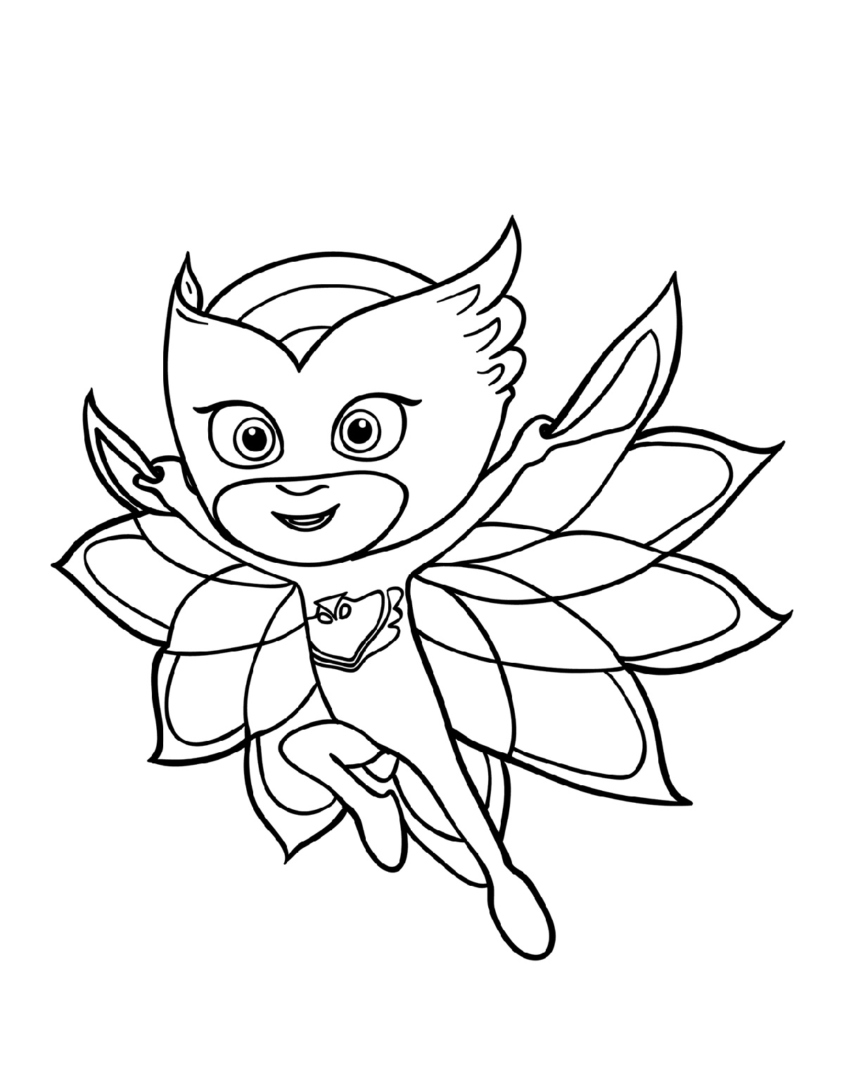 Pj Masks Coloring Pages Free