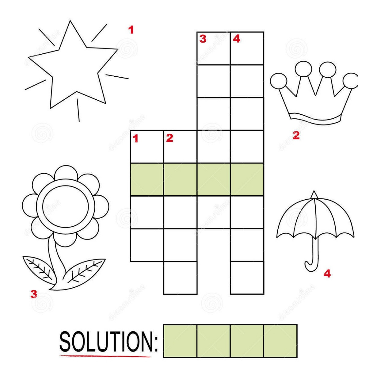 Printable Puzzles For Children Crossword