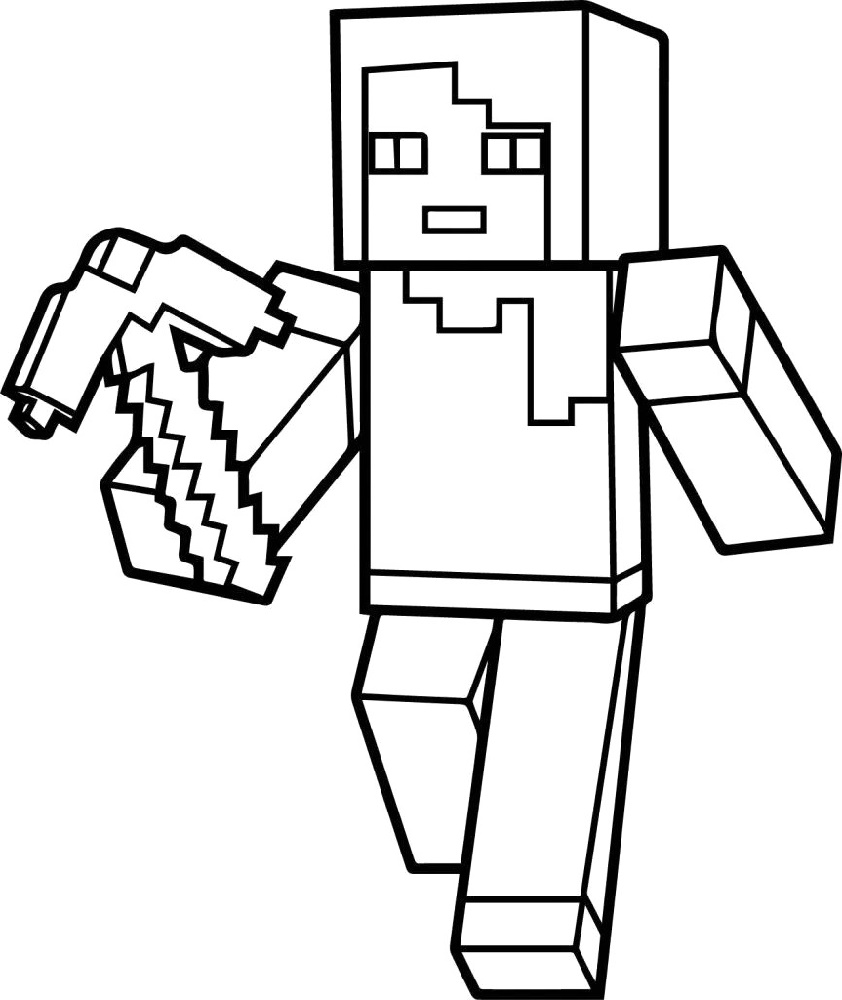 Roblox Coloring Pages Free