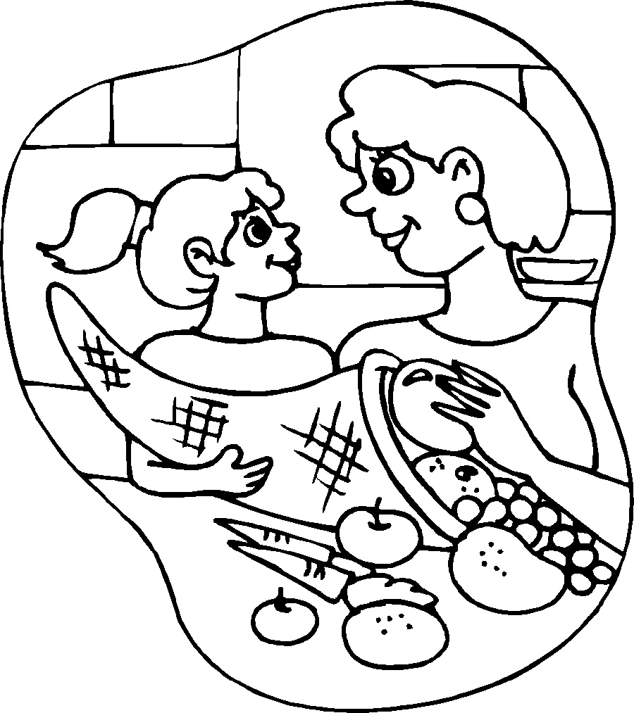 Thanksgiving Coloring Sheets For Kids