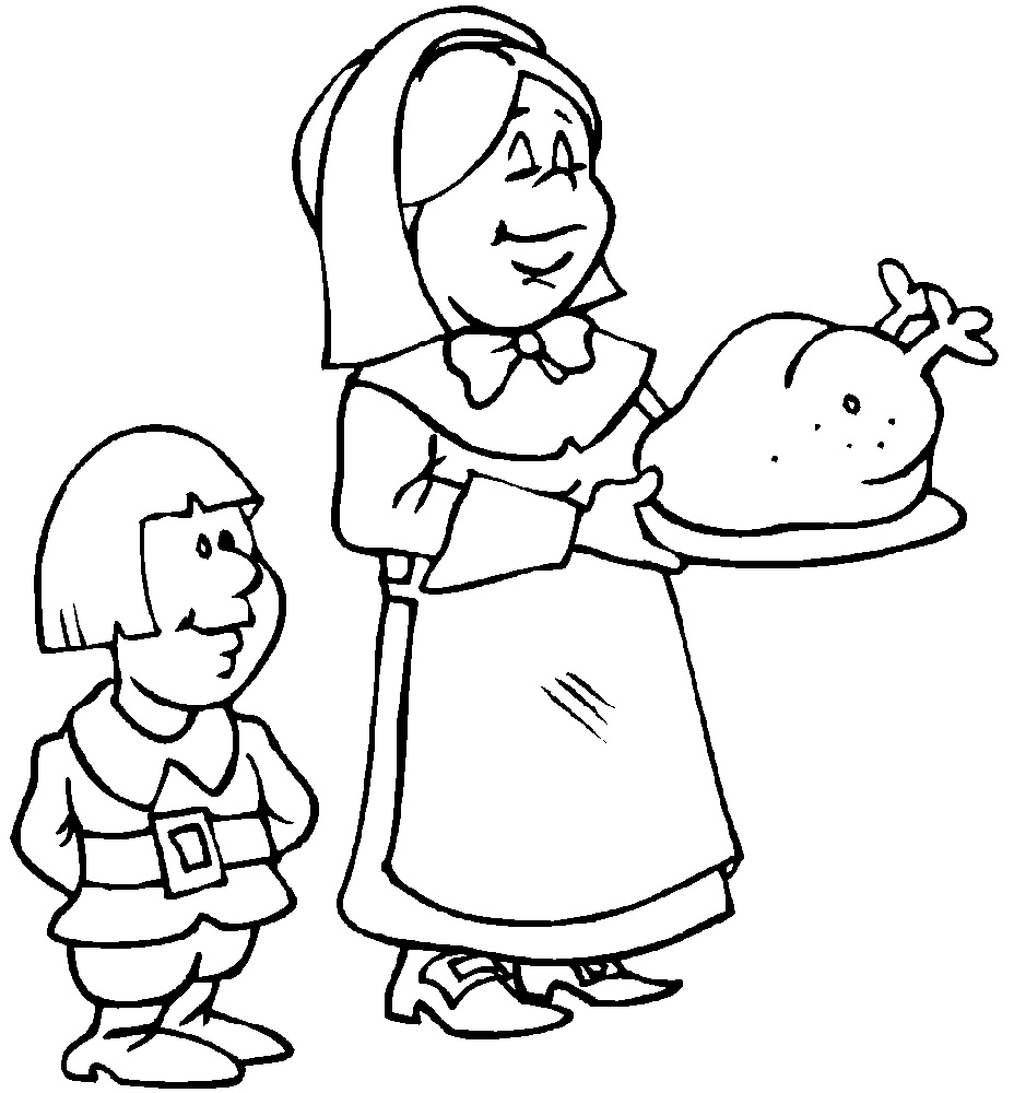 Thanksgiving Coloring Sheets Free