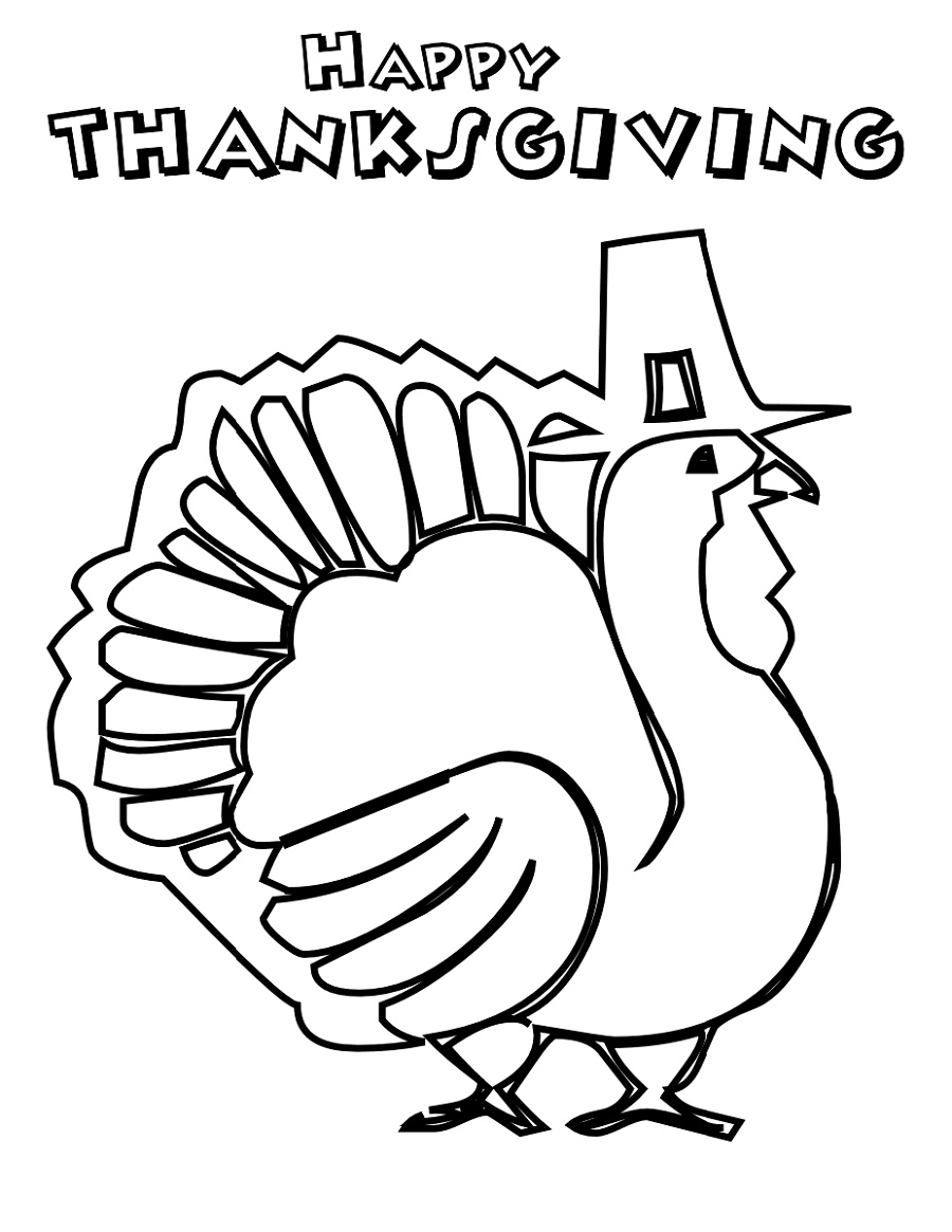 Thanksgiving Coloring Sheets To Print