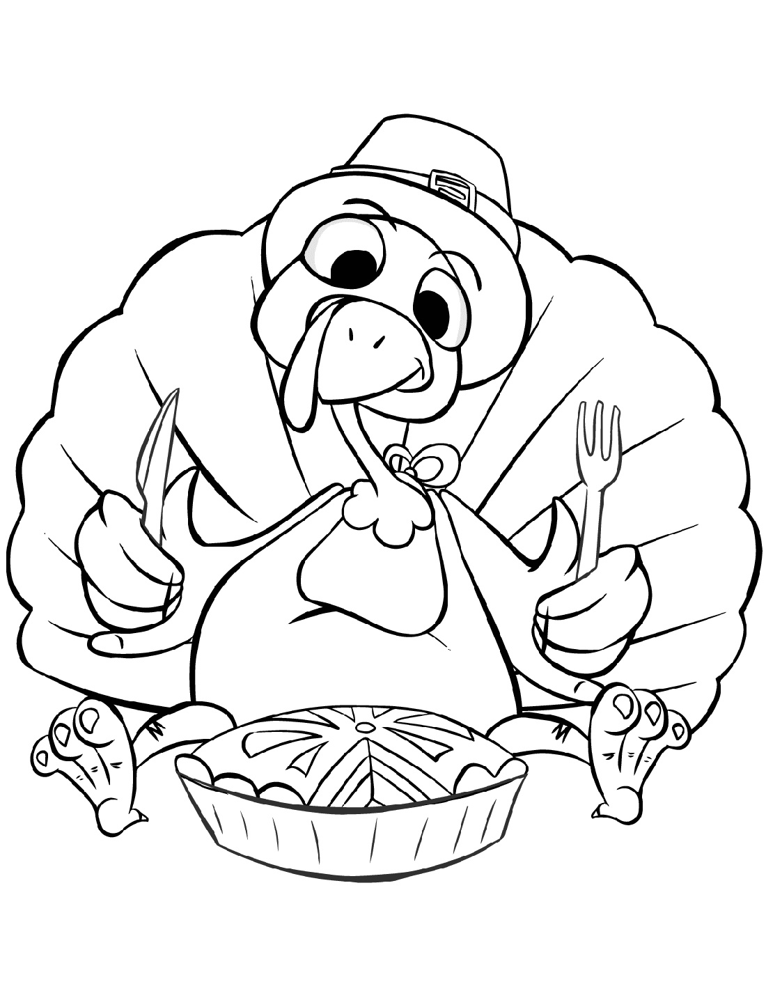 Thanksgiving Coloring Sheets Turkey