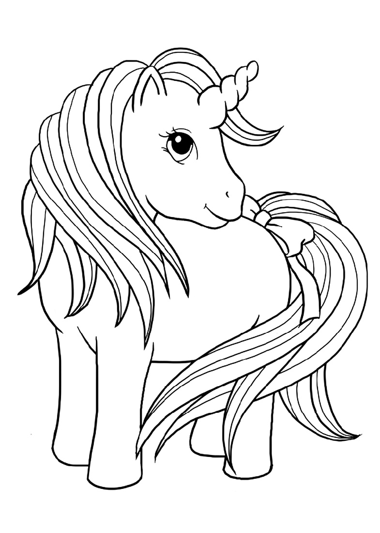 Unicorn Coloring Cute