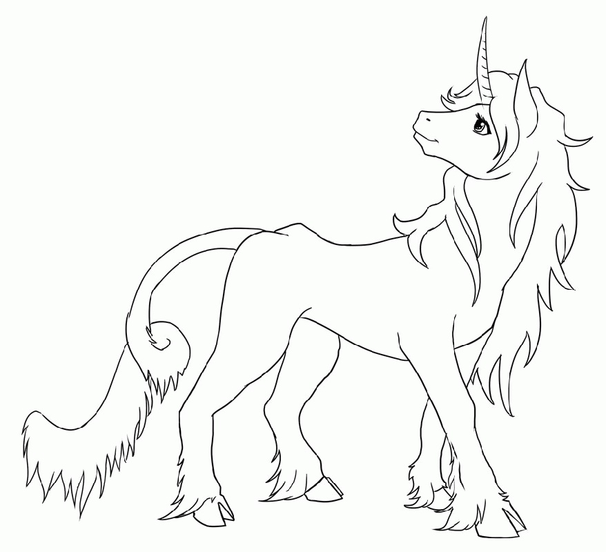 Unicorn Coloring Free
