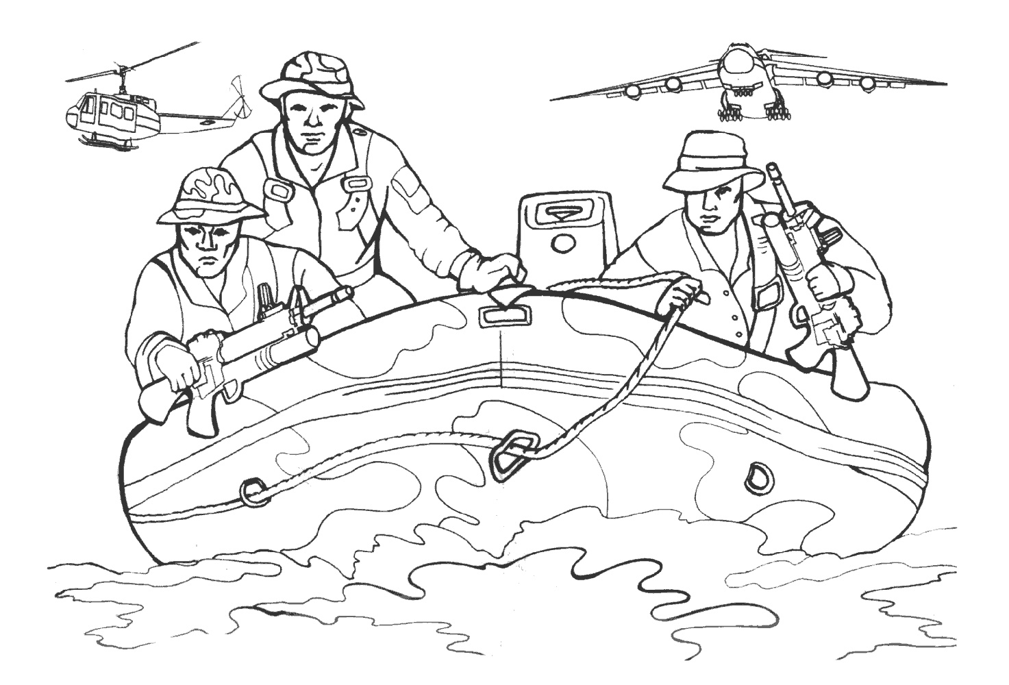 Call Of Duty Coloring Pages Free