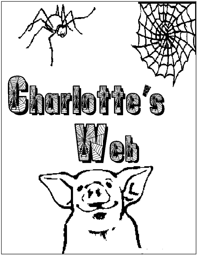 Charlotte's Web Coloring Pages Printable