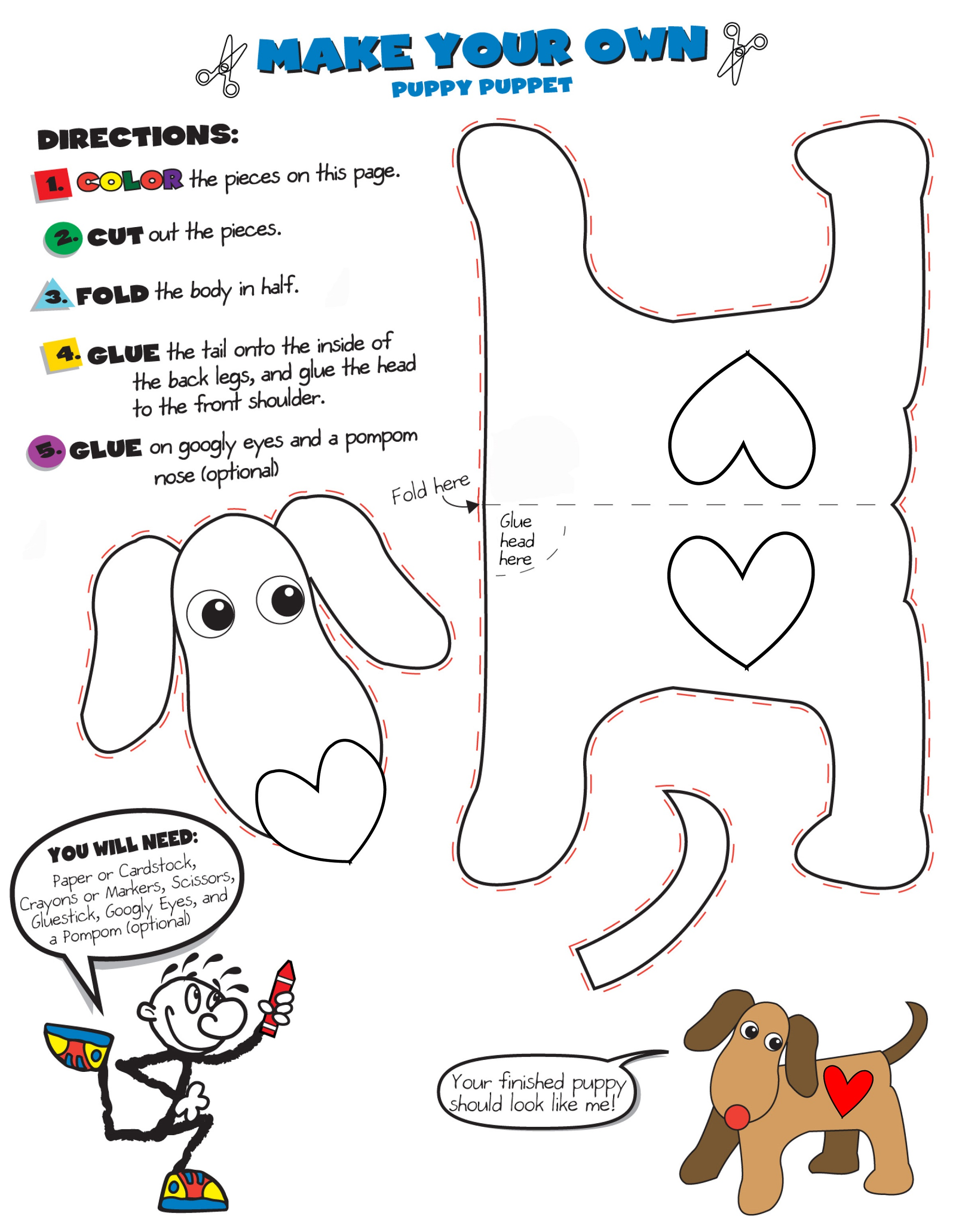 Childrens-Fun-Activity-Sheets-Craft