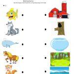 Children's Fun Activity Sheets Matching