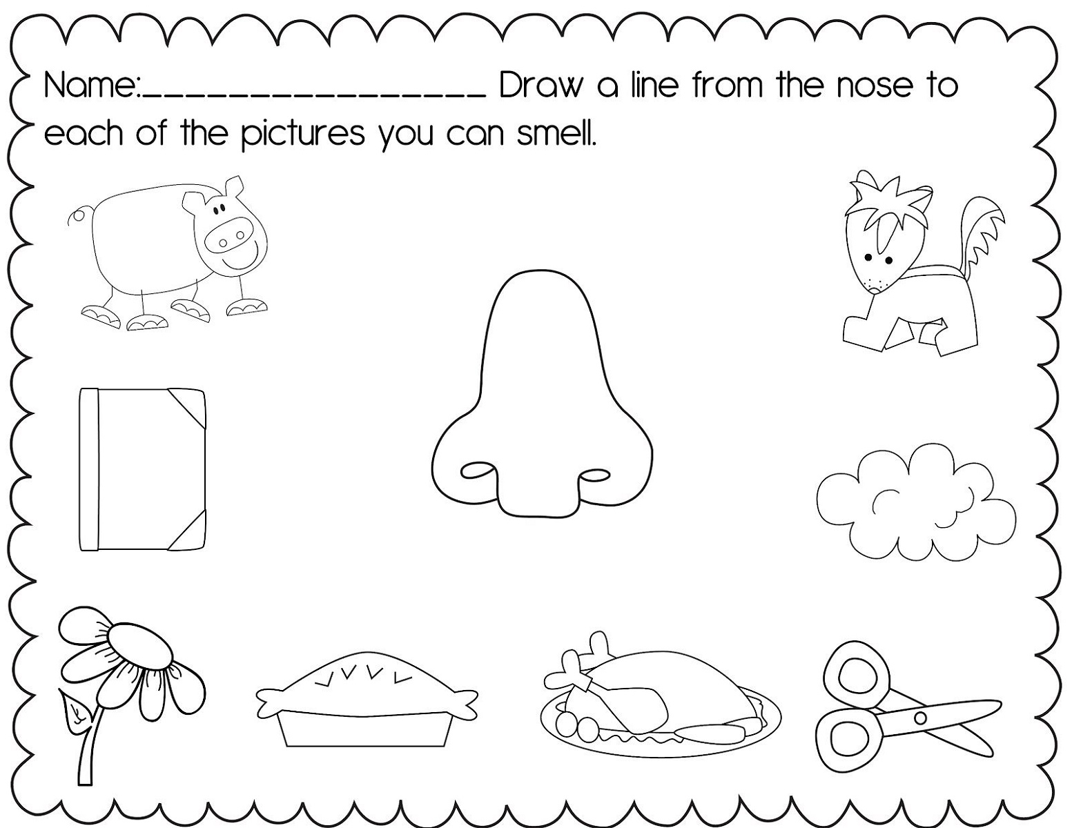 Children's Fun Activity Sheets Sense