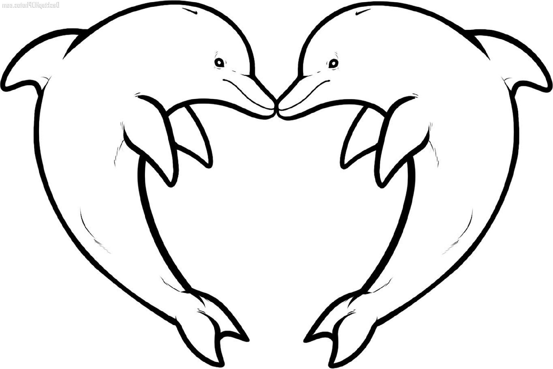 Coloring Pages For Girls Dolphin