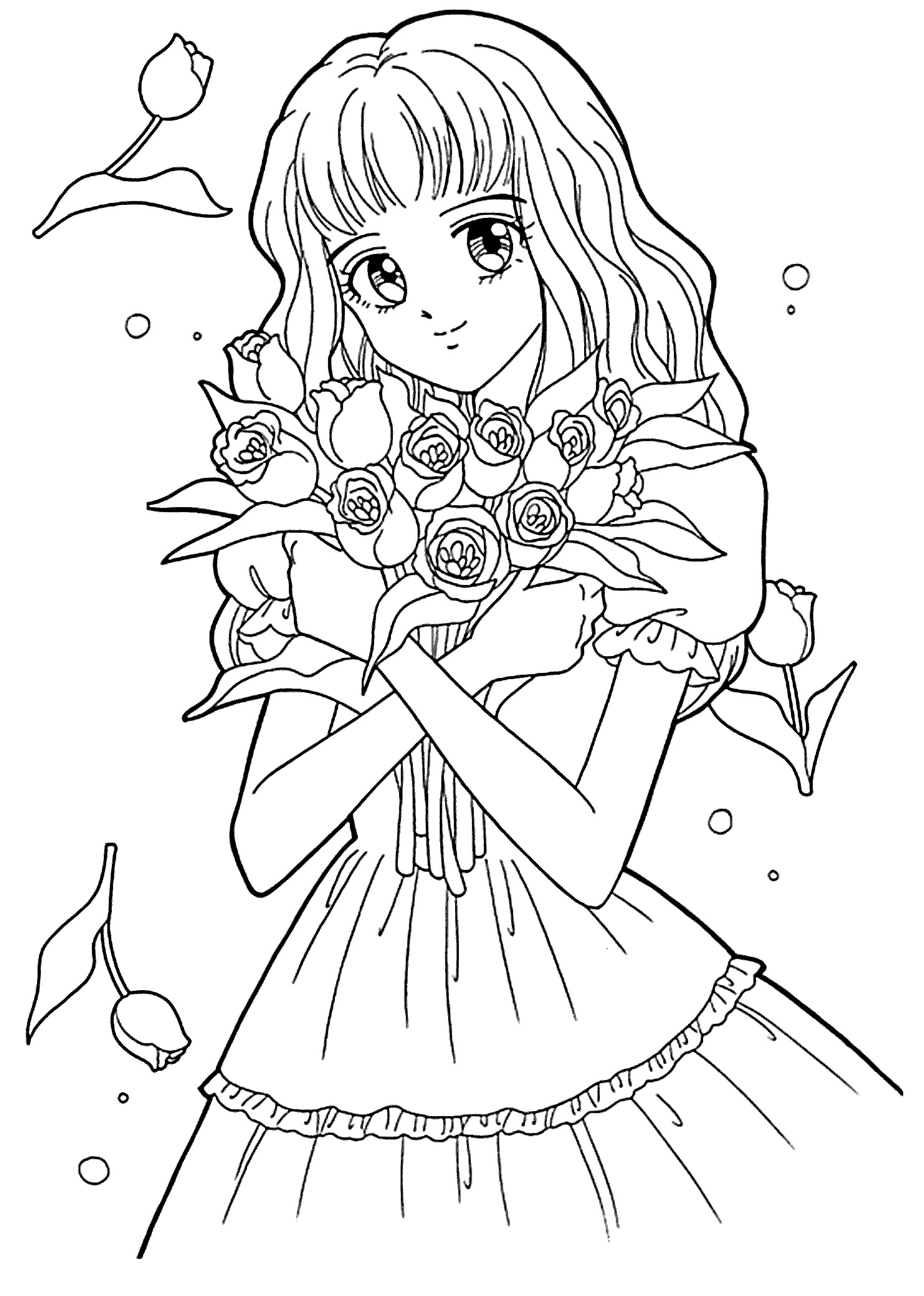 Coloring Pages For Girls Teens