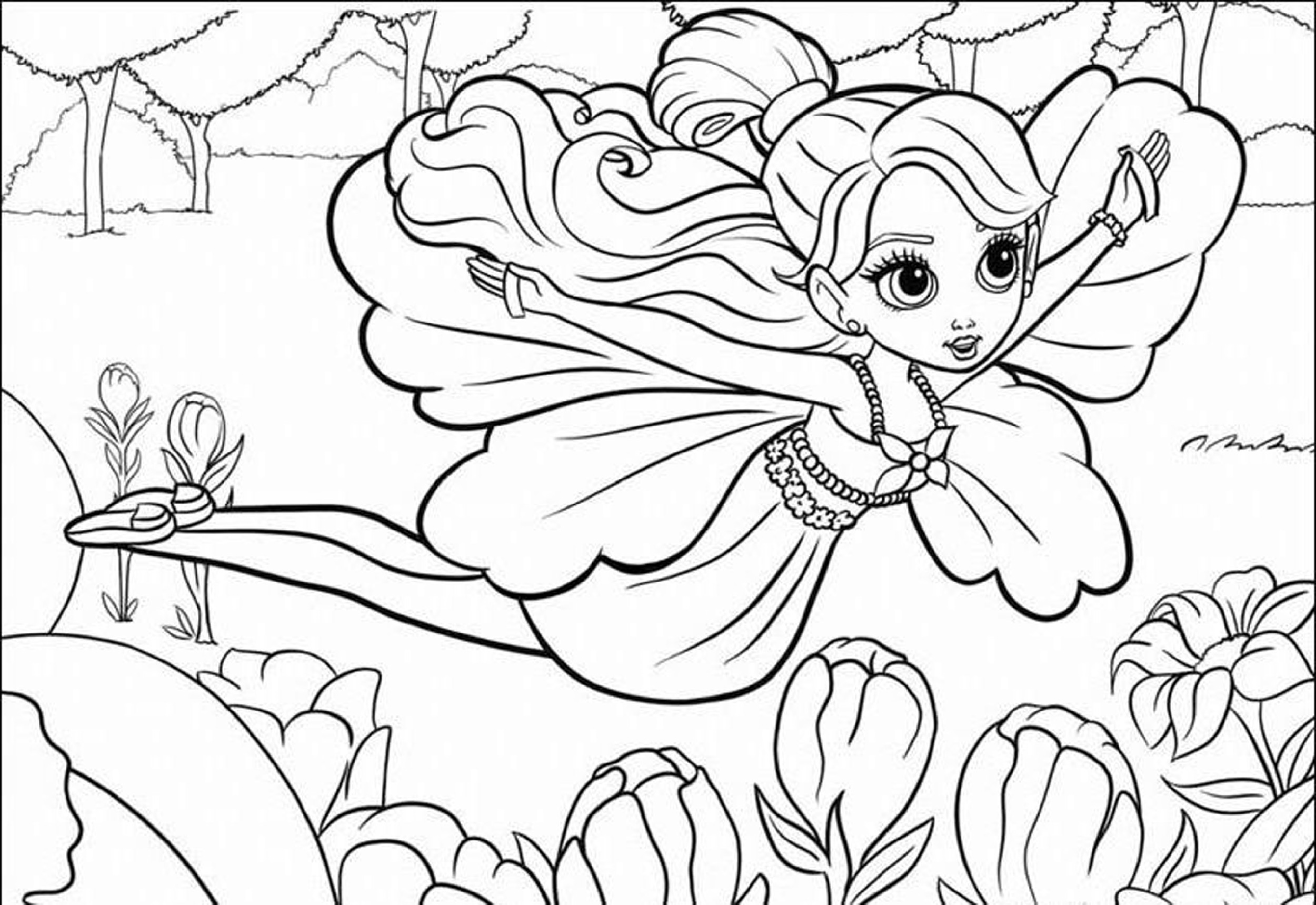 Coloring Pages for Teens Girls