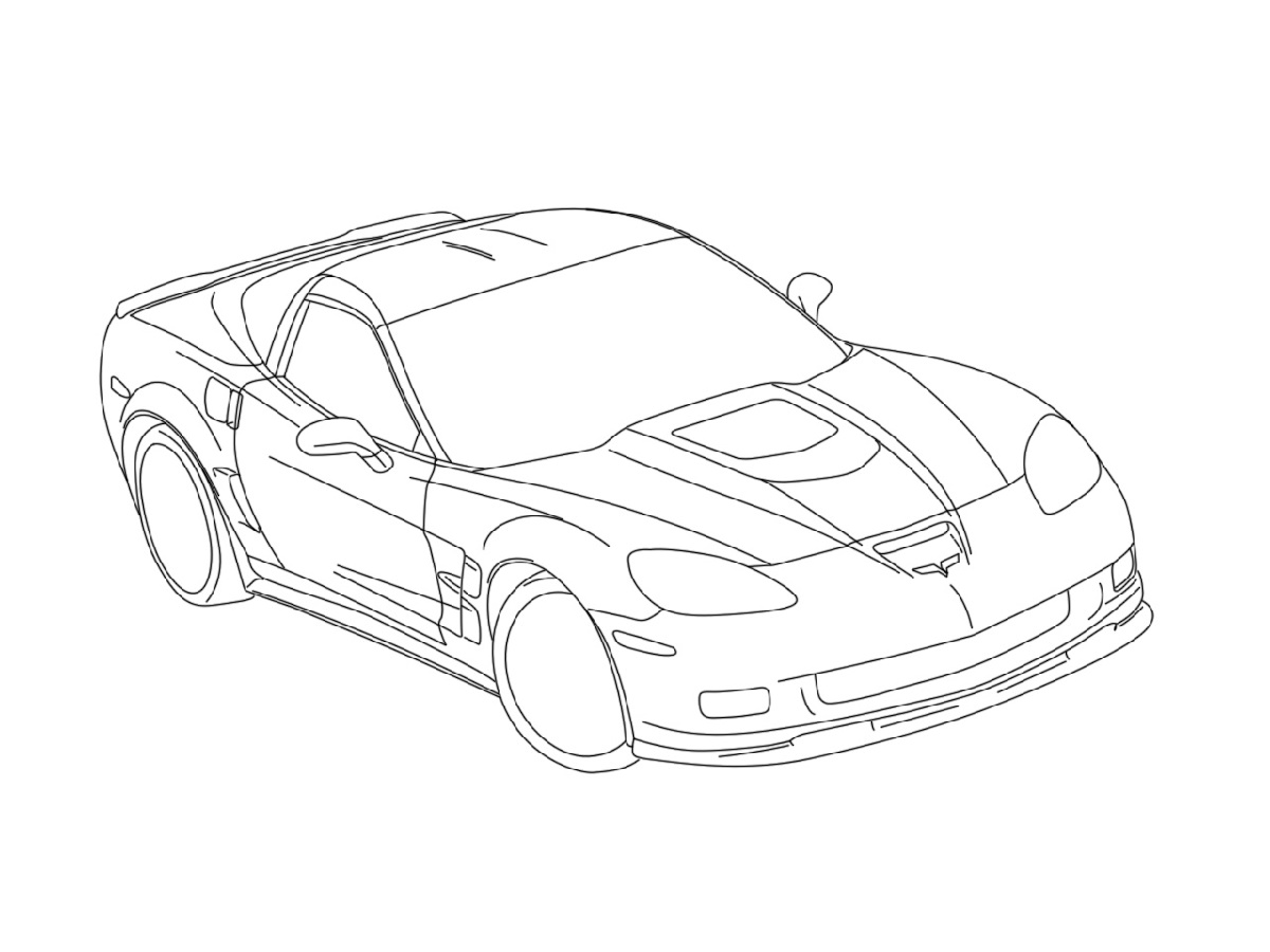 Corvette-Coloring-Pages-Cars