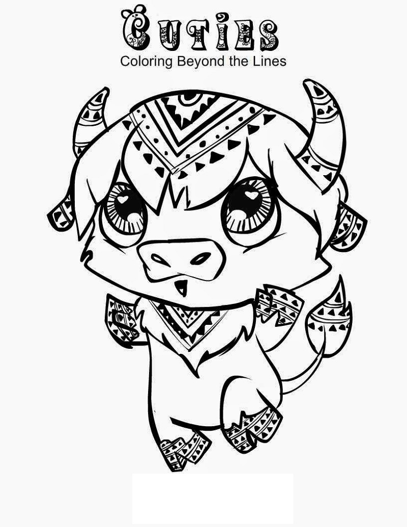 Cuties Coloring Pages Buffalo