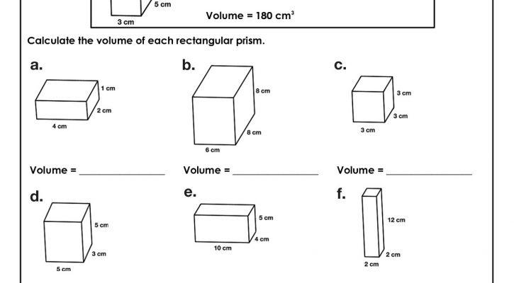 Free 6th Grade Math Worksheets Volume