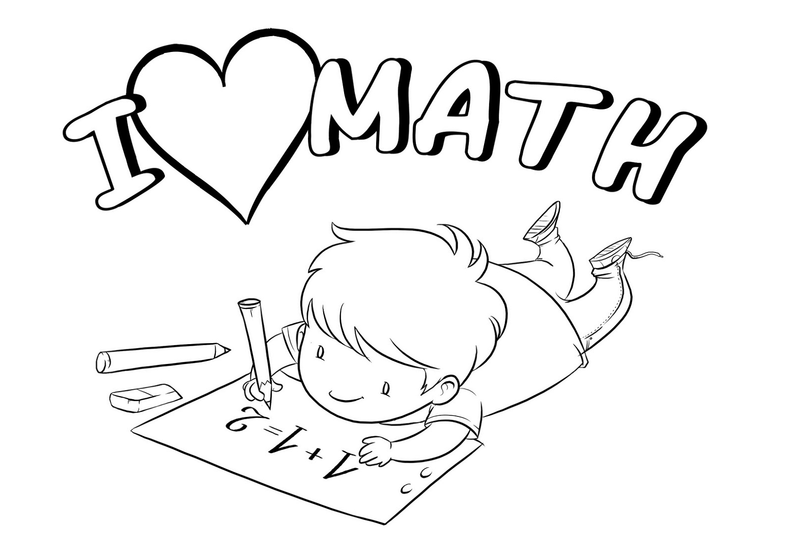 Free Coloring Pages Math