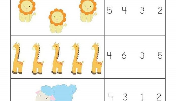 Free Easy Math Worksheets Counting