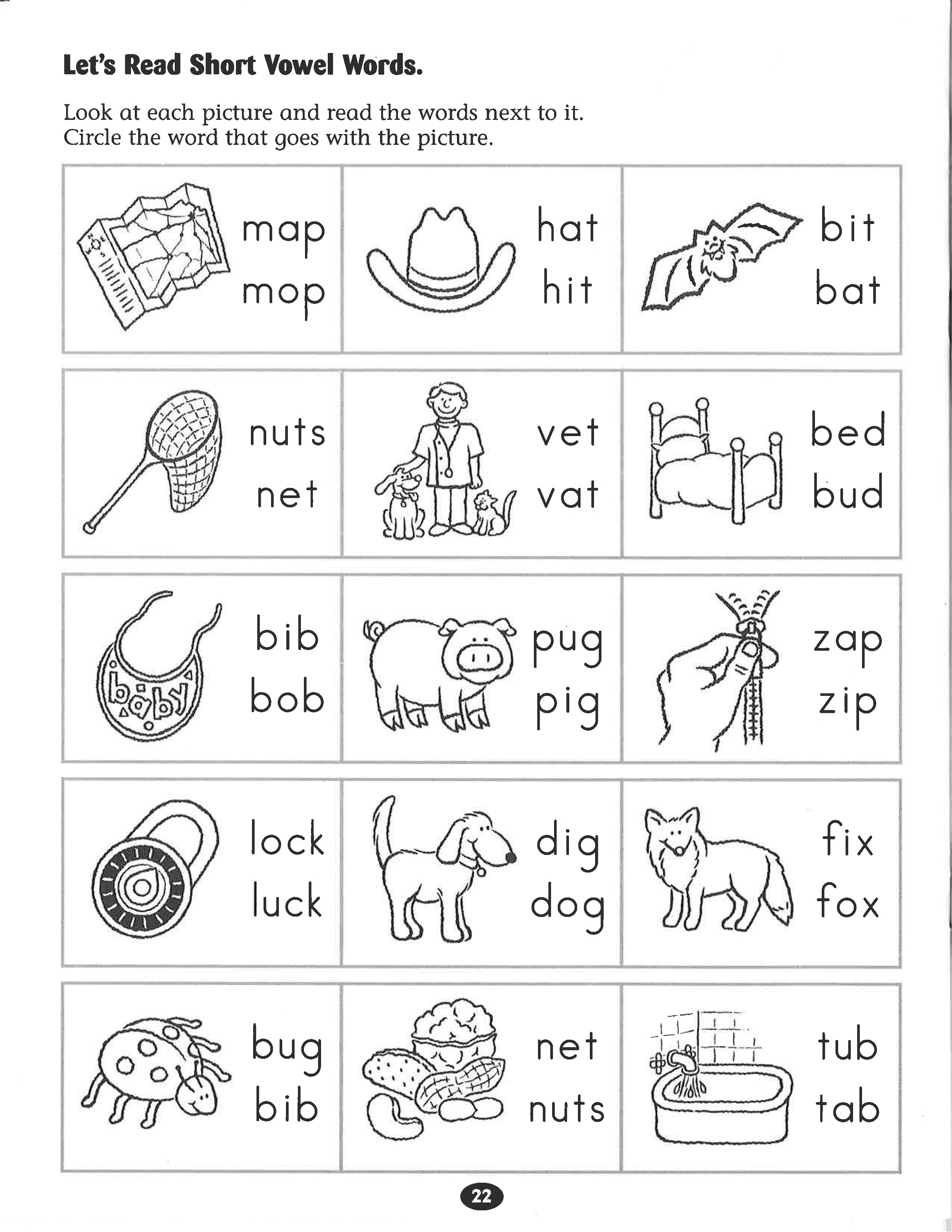 Free Literacy Worksheets Phonics
