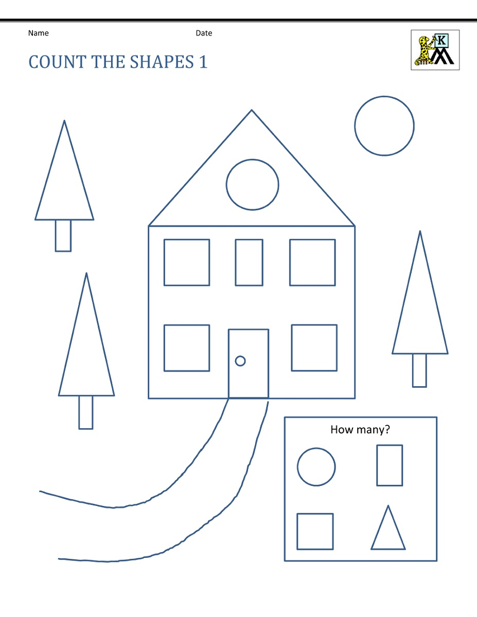 Free Math Printables Shapes