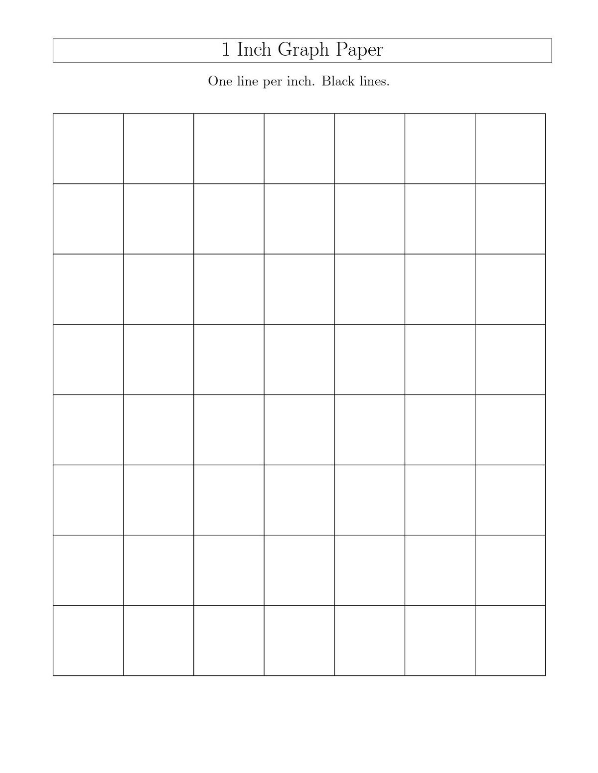 Free Printable Children's Book Template Graph Paper