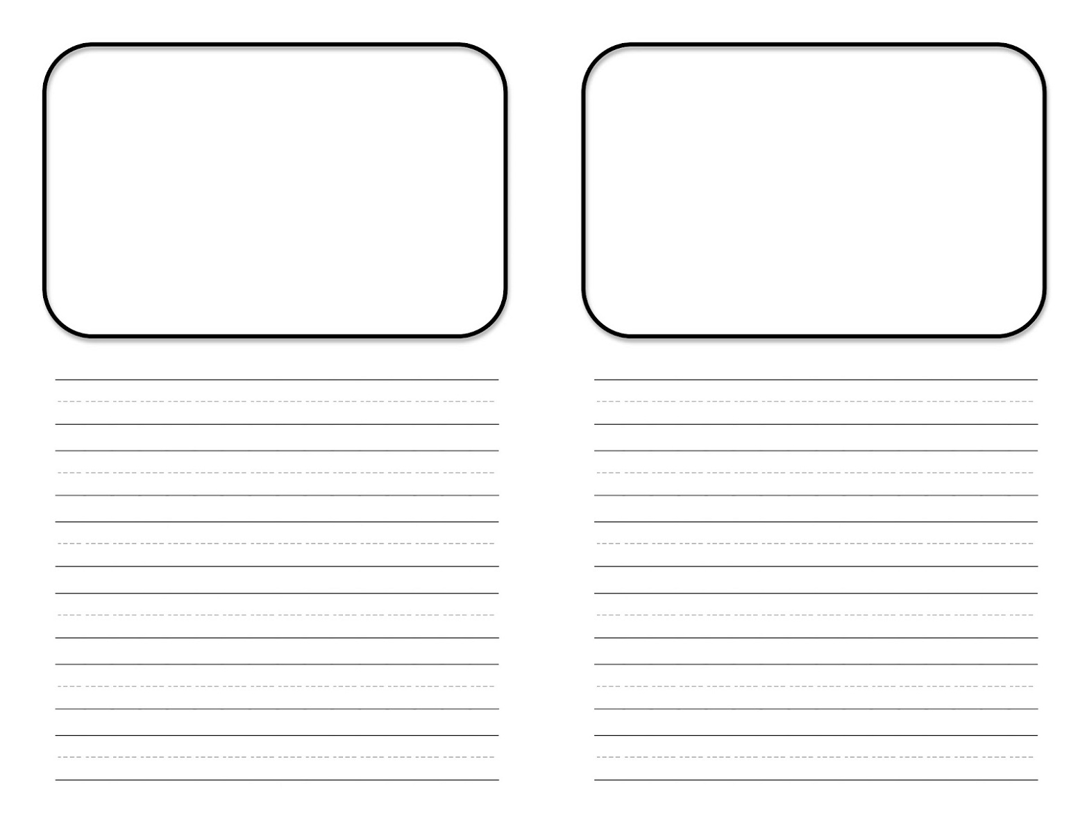 Free Printable Children's Book Template Story Book