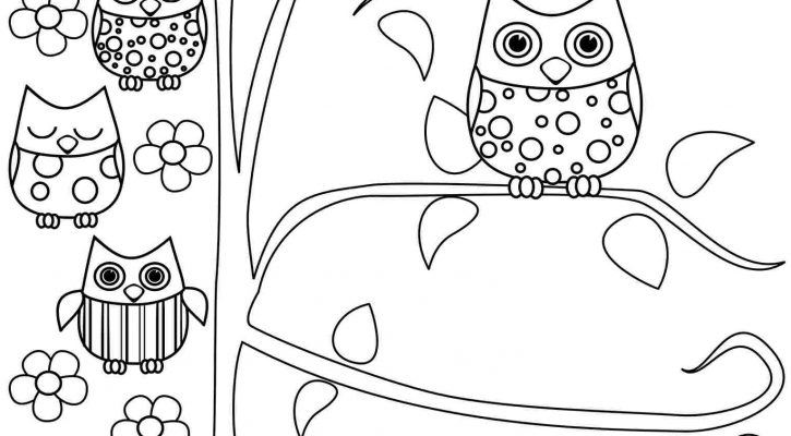 Free Printable Coloring Pages Owl