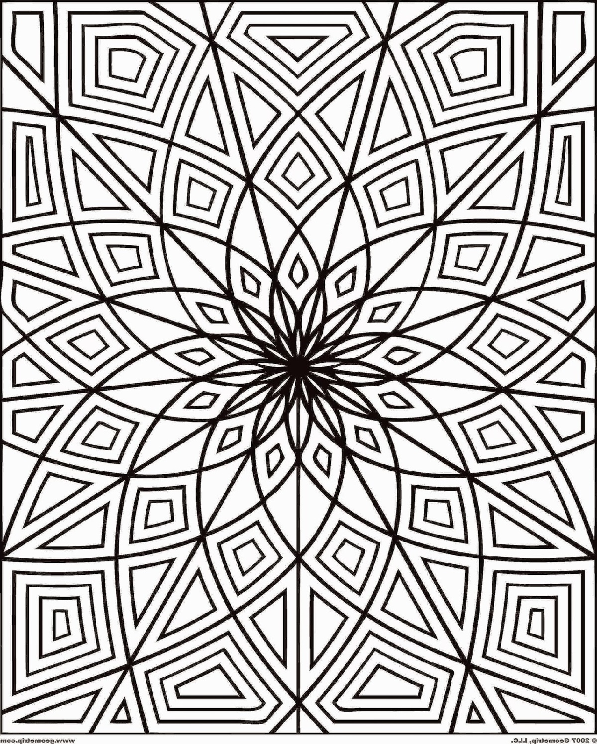 Free Printable Coloring Pages for Adult